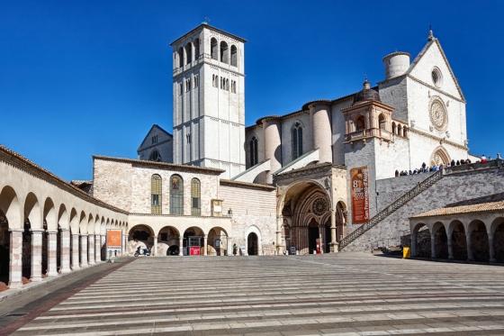 The Basilica di San Francesco, Assisi, Italy