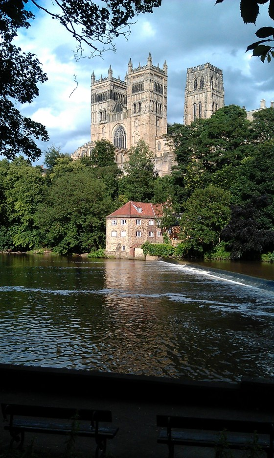Durham Cathedral's western towers