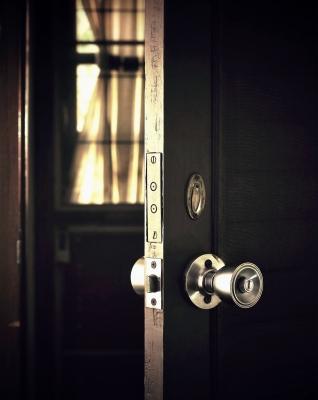 Open the dark door to the light.